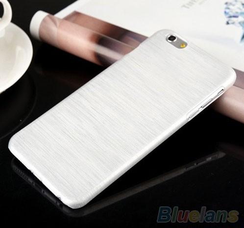 Capa Case iPhone 6 Aluminio Escovado Branco