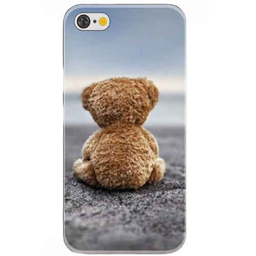 Case iPhone 6 Plus Ursinho na Areia