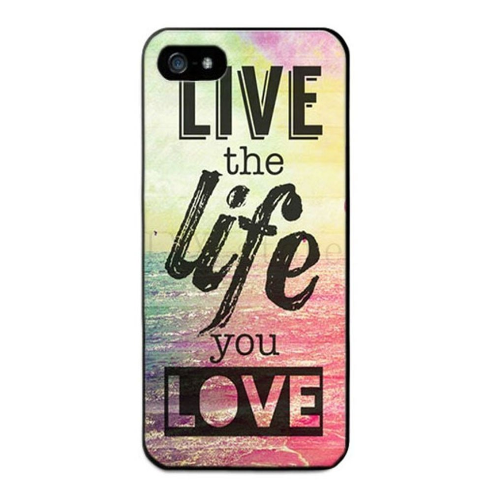 Case iPhone 5 ou 5S Live the Life
