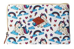 Funda Tablet Unicornio Beige