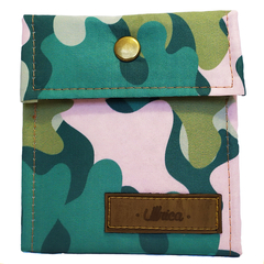 Billetera Pocket Camuflado Verde