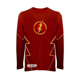 Camisas UV Infantil Super-Heróis FLSH