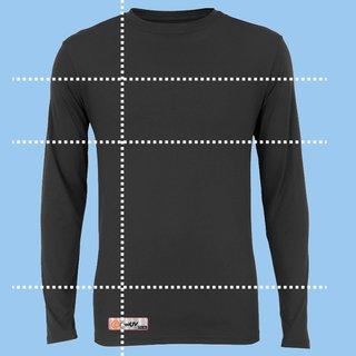 Camisa UV Sob Medida - Preto
