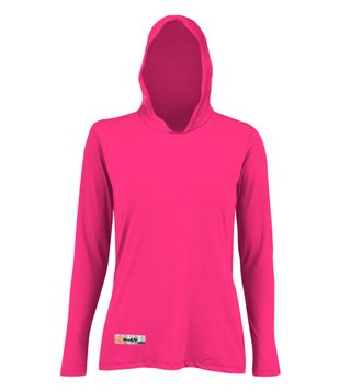 Camisa UV Feminina Capuz