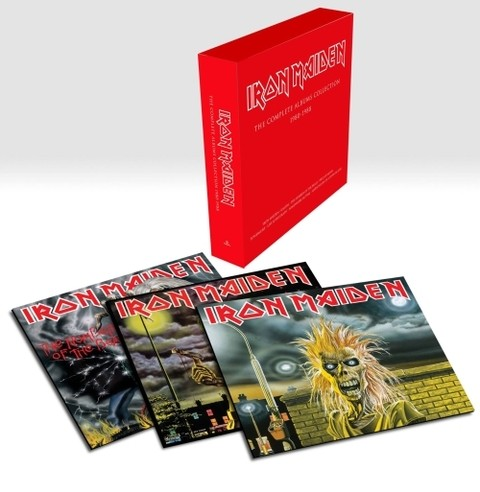 Iron Maiden - The Complete Albums Collection 1980 - 1988 (Limited Edition)