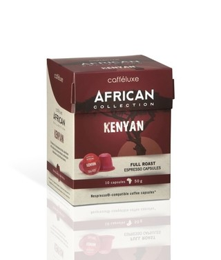 African Collection Giftbox - (*Kit com 60 cápsulas) - tienda online