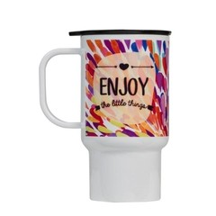 Taza Termica  Enjoy the Little Things