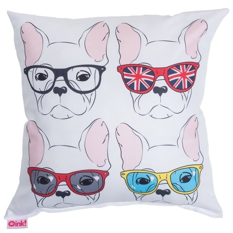 Almohadon 45x45 BullDog Pop