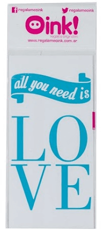 Vinilo All You Need is Love 10x15