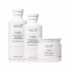 Shampoo Condicionador e Máscara Keune Care Keratin Smooth