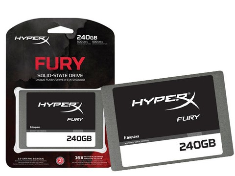 SSD GAMER HYPERX SHFS37A/240G FURY 240GB 2.5
