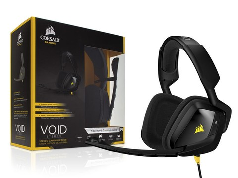 HEADSET GAMER CORSAIR CA-9011131-NA VOID 2.0 STEREO PRETO