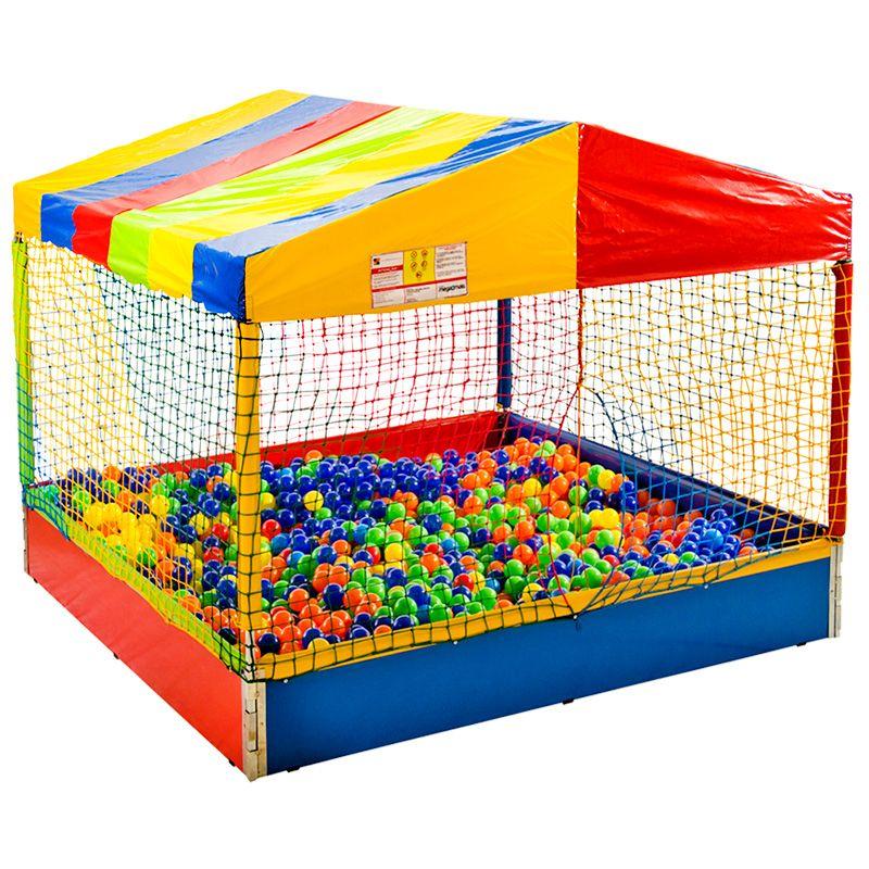 Piscina de bolinhas com bolinhas for Bolas para piscina de bolas
