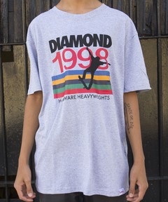 CAMISETA DIAMOND NINETIES TEE HEATHER na internet
