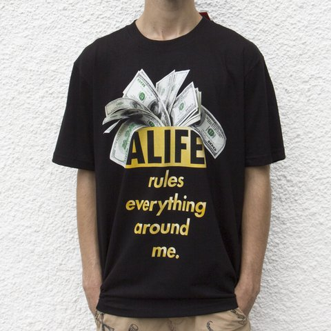 CAMISETA ALIFE RULES BLACK - comprar online
