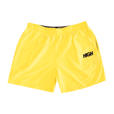 BERMUDA HIGH SUMMER SHORT LOGO YELLOW BLACK - comprar online