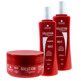 Dihair Kit Solution Repair 300ml - Home care