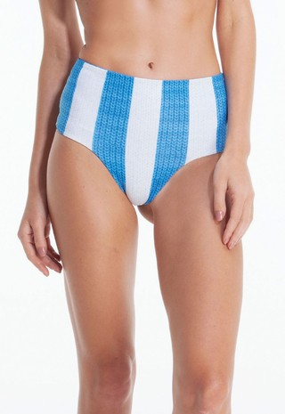 PRINT TRICOT HOT PANTS DOUBLE FACE