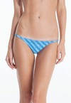 INDIGO STRIPES THIN BOTTOM