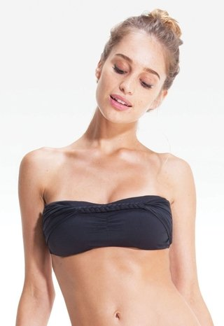 STRAPLESS BRAID BANDEAU