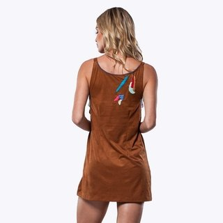 HANDMADE CARAMEL DUG DRESS na internet