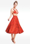 HIBISCUS FLARED SKIRT
