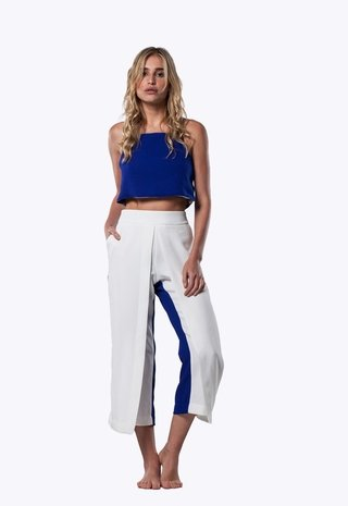 COLORBLOCK WRAP PANTS na internet