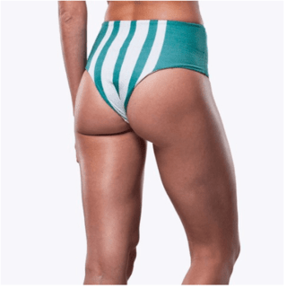 LOCAL STRIPES DOUBLE HOT PANT - comprar online