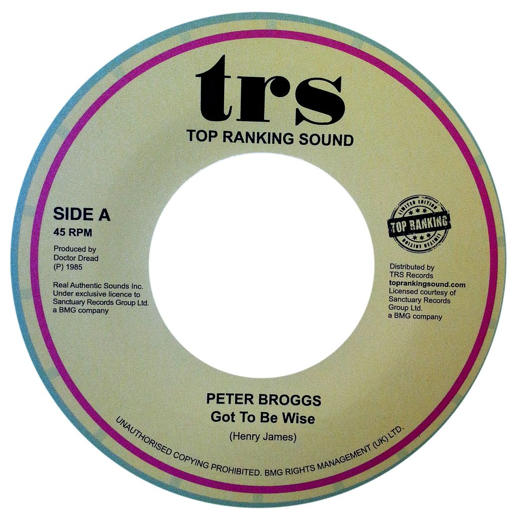 Peter Broggs Got To Be Wise