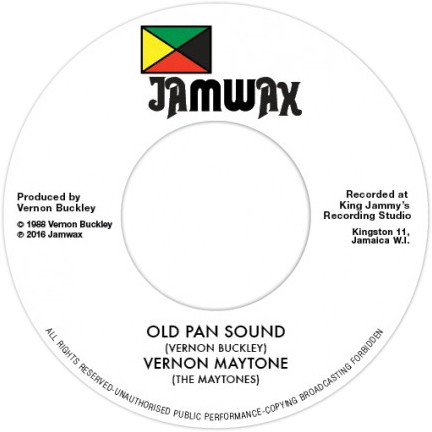 7 Vernon Maytone Old Pan Sound on reggae rap