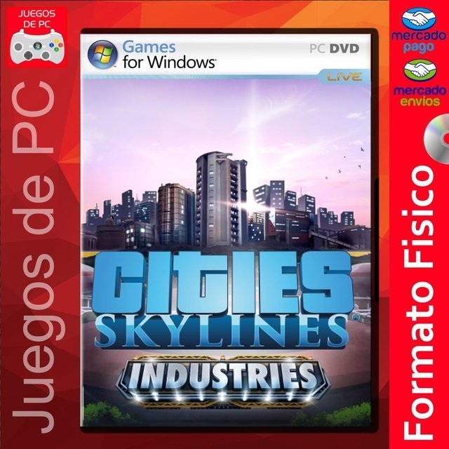 Cities: Skylines - Industries / ESPAÑOL