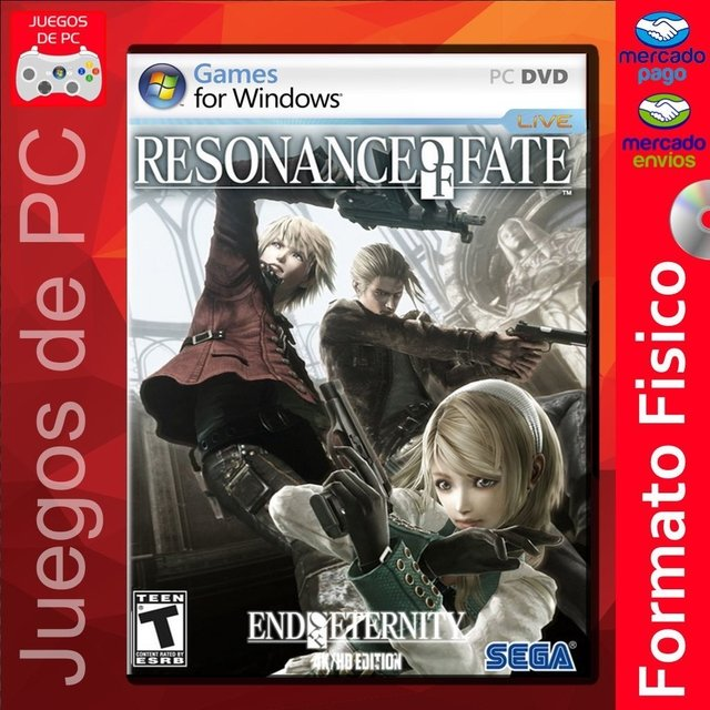 Resonance of Fate End of Eternity 4K HD Edition / ESPAÑOL