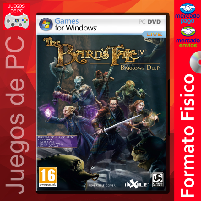 The Bards Tale IV Barrows Deep / ESPAÑOL