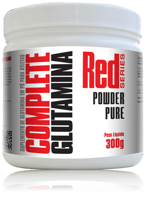 COMPLETE GLUTAMINA- 150g - RED Series