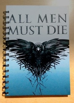 Anillado All Men Must Die - Game of Thrones