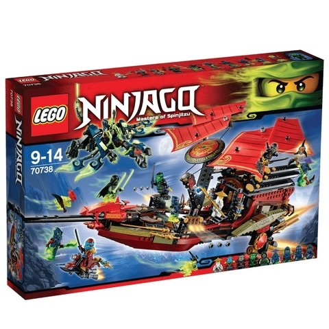 LEGO 70738 Voo Final do Barco do Destino - Ninjago