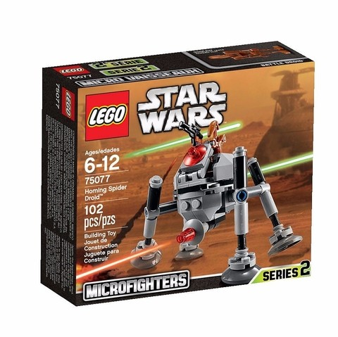 LEGO 75077 Homing Spider Droid - Star Wars