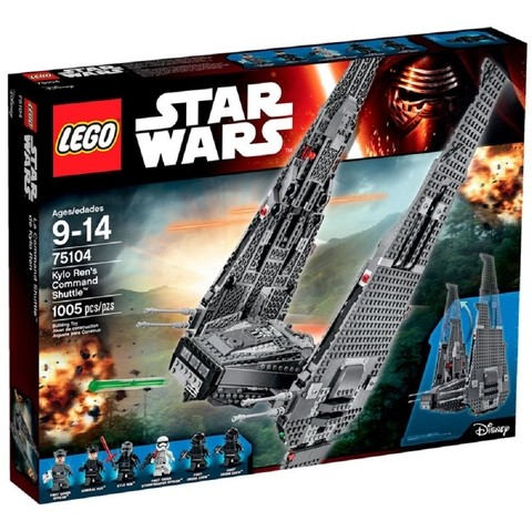 LEGO 75104 Command Shuttle de Kylo Ren - Star Wars