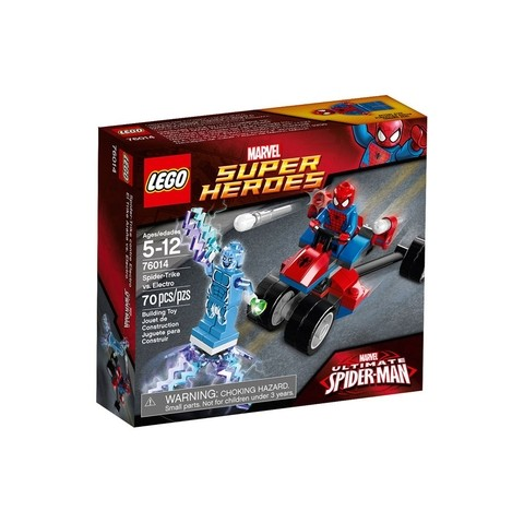 LEGO 76014 Spider-Man: Spider-Trike contra Electro - Super Heroes Marvel