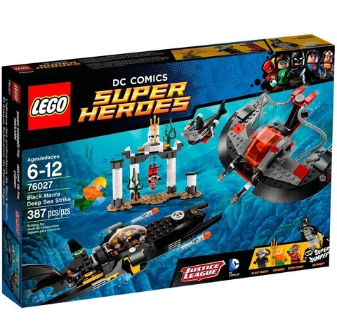 LEGO 76027 O Ataque do Fundo do Mar de Manta Negra - Super Heroes DC Comics