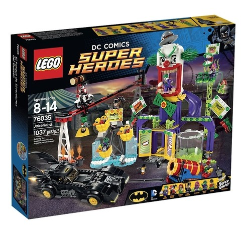 LEGO 76035 A Terra do Coringa - Super Heroes DC Comics