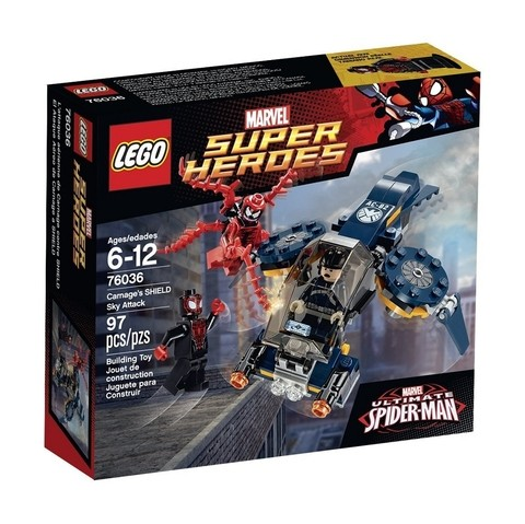 LEGO 76036 Jato de Ataque da SHIELD - Super Heroes Marvel