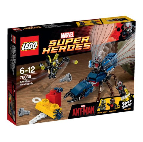 LEGO 76039 O Combate Final do Homem-Formiga - Super Heroes Marvel