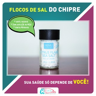 FLOCOS DE SAL DO CHIPRE