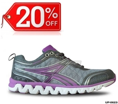 Zapatillas Running Athix - UP0623 Gris /Violeta