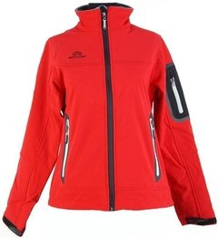 Campera Soft Shell Athix 1127 Rojo