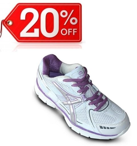 Zapatillas Athix HK-1102 Blanco Purpura