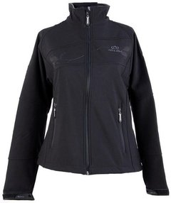 Campera Soft Shell Athix Negro