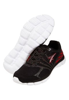 Zapatillas Running Athix-Enthusiastic-Neg/Rojo