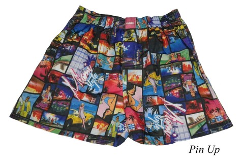 Short Boxer Wide Pin Up